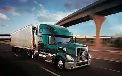 Truck Semi Wheeler Volvo Background Wallpapers Trucks