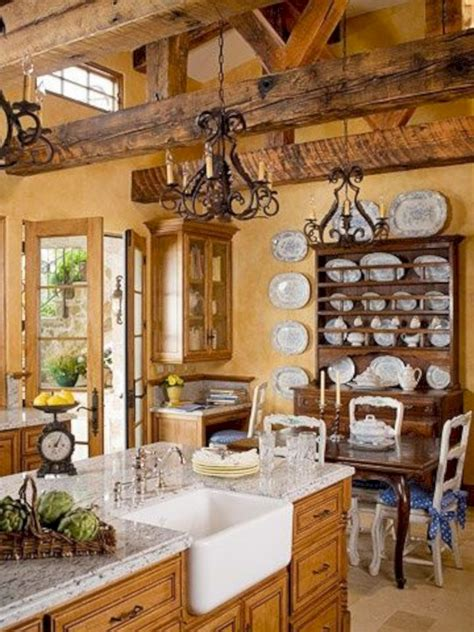french country farmhouse kitchen  french country