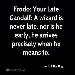 WIZARD QUOTES i... Gandalf Wizard Quotes