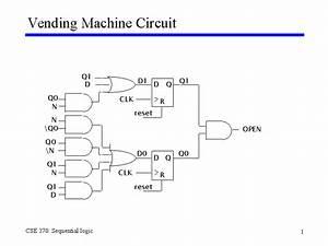 Vending Machine Circuit