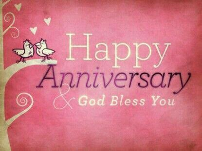 happy anniversary  god bless  anniversary godbless holiday everyday greeting card images