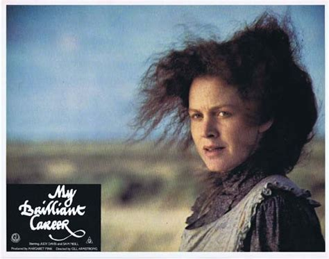Judy davis is one of the fiercest film actors around. MY BRILLIANT CAREER 1979 Lobby Card 7 Sam Neill Judy Davis Wendy Hughes   Moviemem Original ...