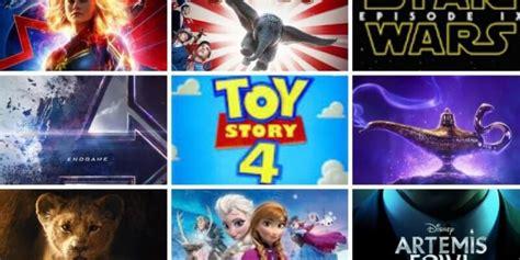 disney reveals list upcoming disney pixar marvel films