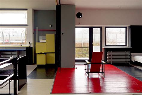 rietveld schroeder house  utrecht   simple elegant  completely transformable home