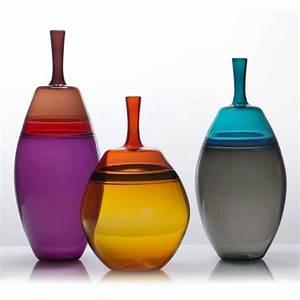 Wong, Glass, Vases