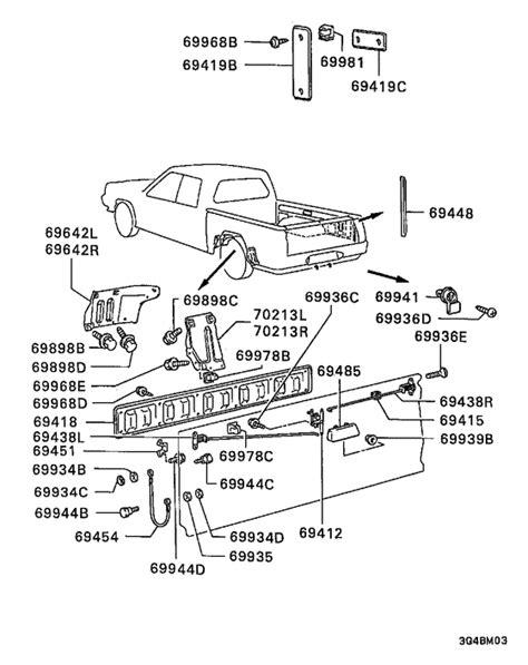 mitsubishi l200 parts manual idea di immagine auto