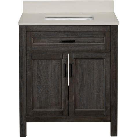 36 inch bathroom vanity lowes shop living durham gray single sink bathroom vanity