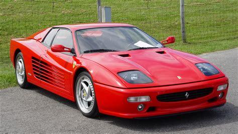 1995 Ferrari 512M - Red - Front Angle