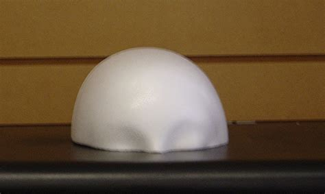 foam dome wig display block dome800h32x polly products