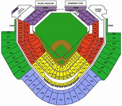 Seating Chase Field Baseball Stadium Diamondbacks Arizona