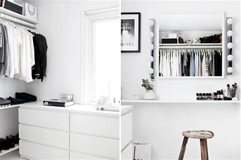 a walk in closet on a budget design and form