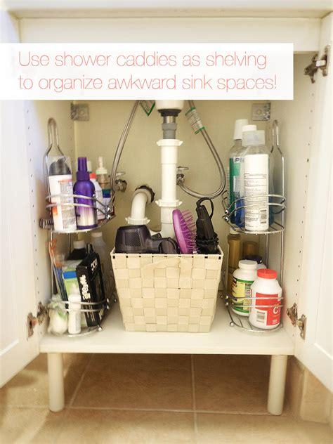 organizational ideas   bathroom