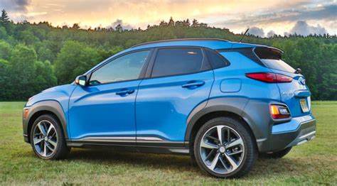 2018 Hyundai Kona Review Standout New Subcompact Suv