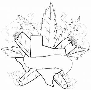 coloring pages weed - 13 best smoke weed tattoo stencil images on pinterest
