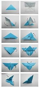Origami Schmetterling Anleitung : origami falten anleitung schmetterling serwetki ~ Frokenaadalensverden.com Haus und Dekorationen