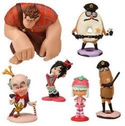 wreck it ralph cake toppers disney exclusive wreck it ralph sugar 7 pcs cake