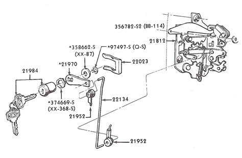 Car Latch Diagram by 1965 Ford Mustang Door Latch Diagram Imageresizertool