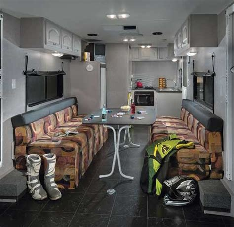 love  ideausing  fold  table rv space