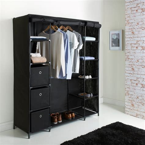 Open Shelves In Kitchen Ideas - deluxe large canvas wardrobe bedroom furniture furniture