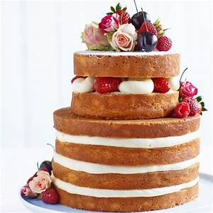 Wedding Cake Recipes Woman And Home