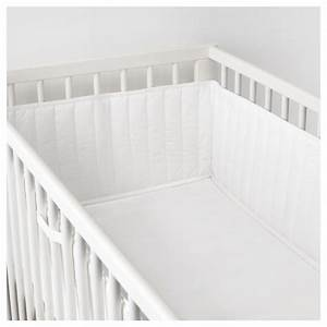 Ikea Tour De Lit : len tour de lit b b blanc 60 x 120 cm ikea ~ Teatrodelosmanantiales.com Idées de Décoration