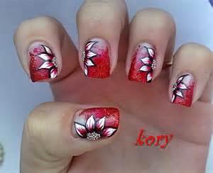 Home plus size korean nail art flower design
