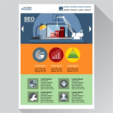 Template Seo Free by Web Template For Seo Vector Free Download