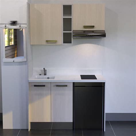 kitchenette  cm avec etagere emplacement hotte