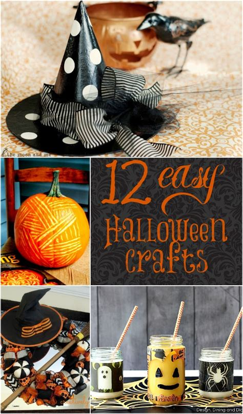 12 Easy Diy Halloween Crafts  Home Stories A To Z