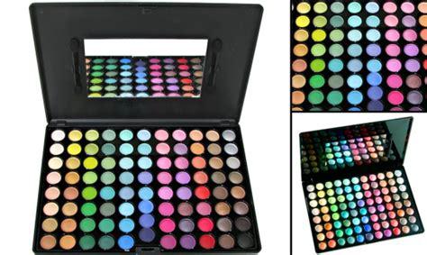 Profesionālas 88 krāsu dekoratīvo acu ēnu paletes ...