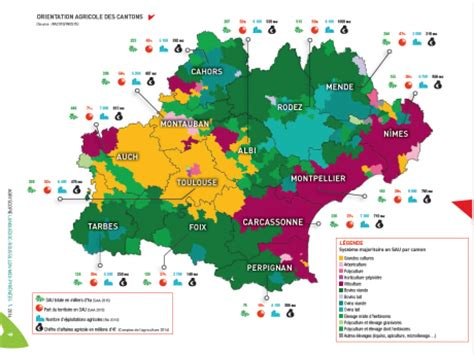 chambre d agriculture montpellier l 39 occitanie deuxième région agricole française selon le