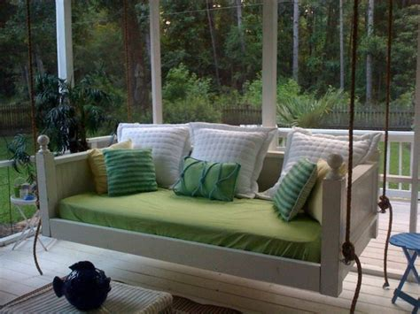 emerson bed swing  vintage porch swings charleston sc traditional porch charleston
