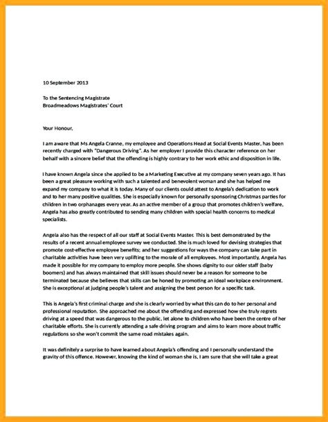 sample character reference letter  social worker