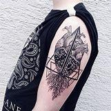 Anatomical Heart Tattoo Black And White | 600 x 600 jpeg 121kB