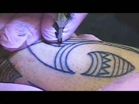 tattoo outlining proper form youtube