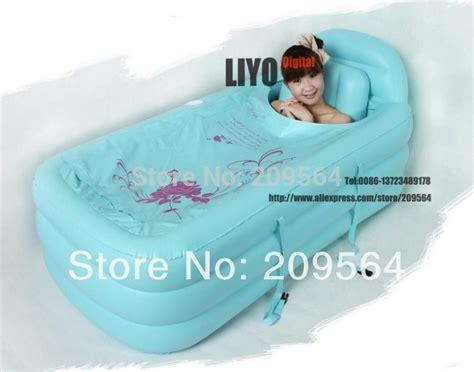 bathtub cover plastic 120 90 50cm spa pvc folding portable bathtub