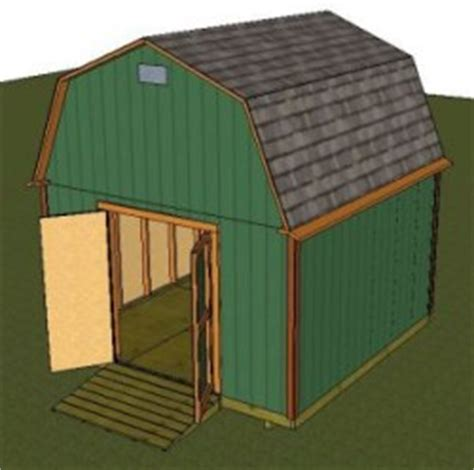 12x12 Gambrel Shed Plans by Barn Shed Plans Small Barn Plans Gambrel Shed Plans