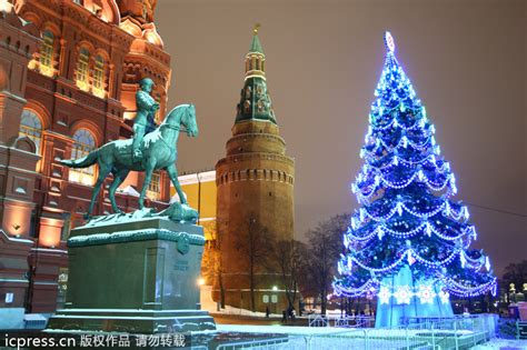 beautiful christmas trees around the world 1 chinadaily