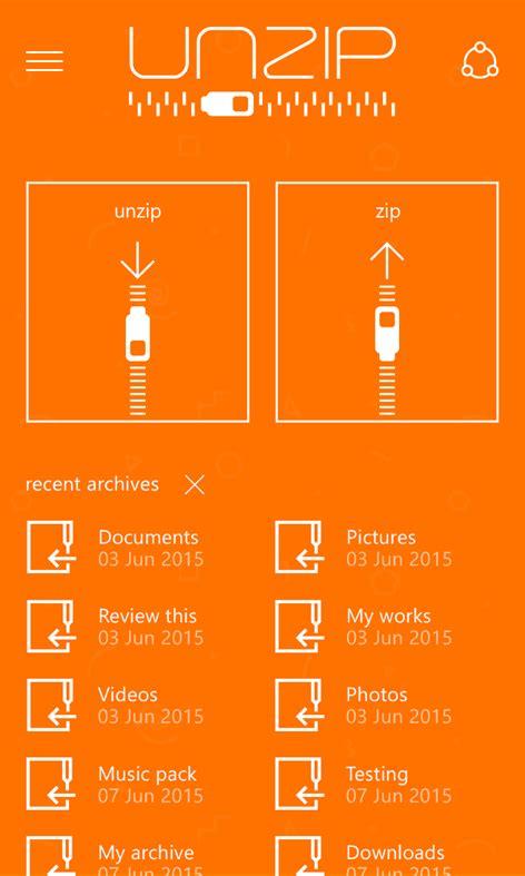unzip ad   windows      app store