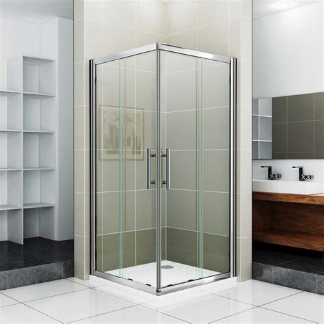 corner shower stalls for small spaces image of