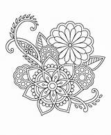 Mandala Coloring Pages Patterns Embroidery Printable Mandalas Printables Tree Para Designs Flower Adult Trendy Colouring Henna Colorear Flores Morada Guaria sketch template