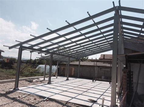 Struttura In Ferro Per Capannone by Struttura Per Capannone In Ferro Zincato Carpenteria