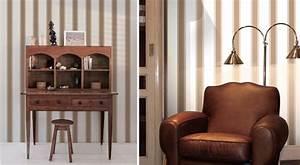 papiers peints pour un bureau de style anglais blog au With couleur pour un salon 2 papiers peints pour une chambre scandinave blog au fil