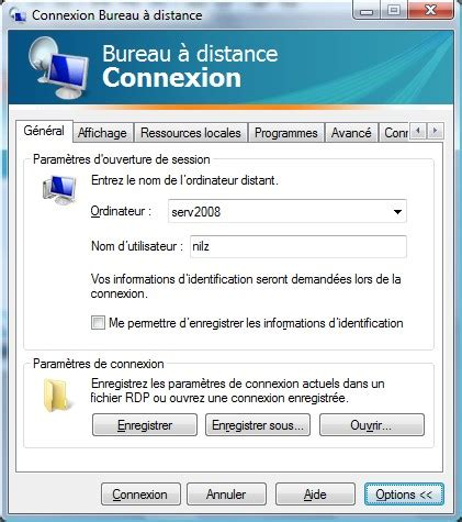 configurer bureau à distance windows 7 raccourci connexion bureau a distance 28 images iilyo