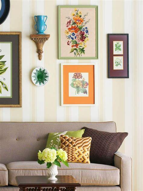 decorating updates   happy colors wall decor