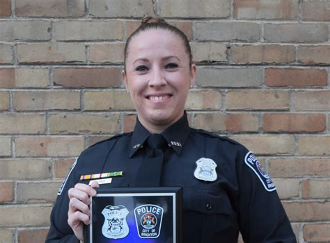 whmi  local news kristi pace named brighton police