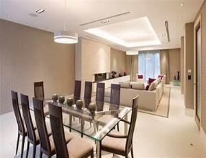Décoration Salon Moderne Salle à Manger : d co salon salle manger quelques exemples inspirants ~ Teatrodelosmanantiales.com Idées de Décoration