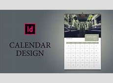 Only 16 Minutes How to design Calendar in InDesign YouTube