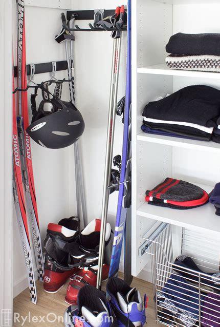 sports equipment storage ski closet chester ny