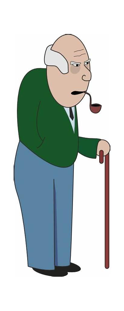 Grandpa Grandfather Clipart Clip Grandparents Cliparts Cartoon